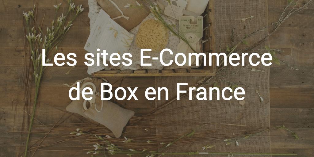 e-commerce de box