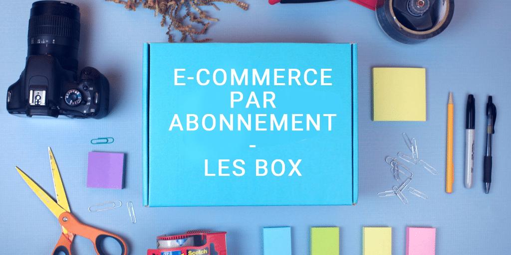 E-ommerce de Box : 49 idées de e-commerce par abonnement
