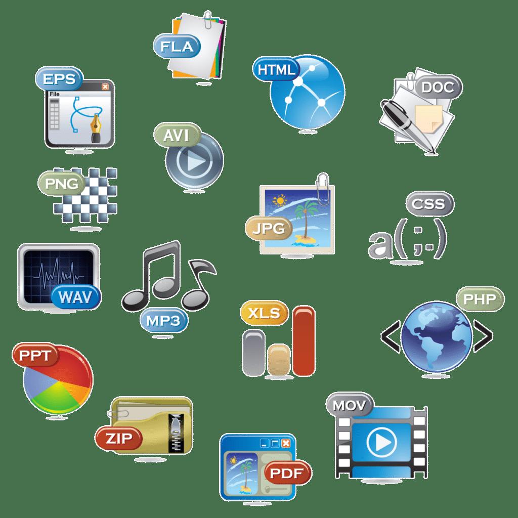 fichiers numériques