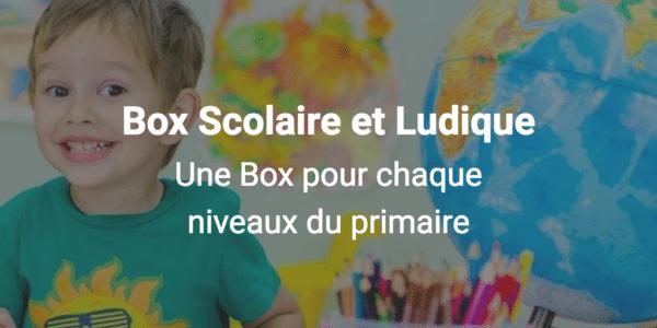 box scolaire