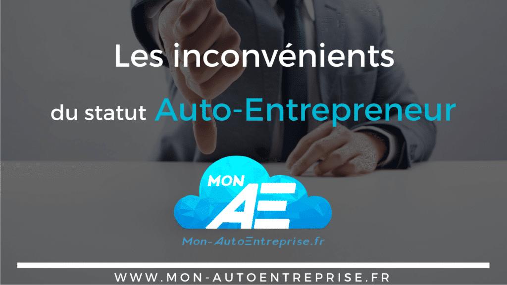 99350b8e6ea Les avantages et inconvénients du statut Auto-Entrepreneur
