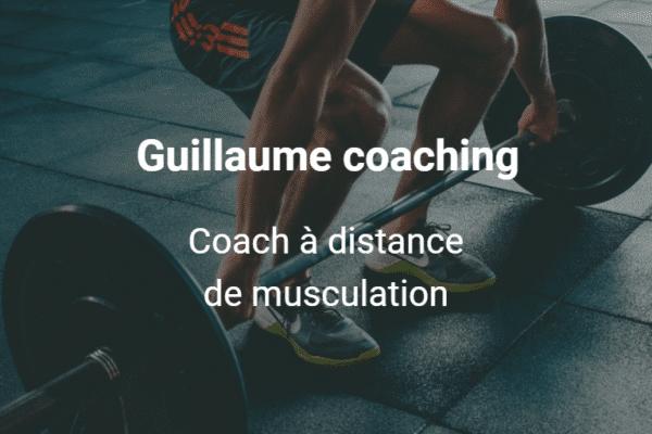 Guillaume coaching