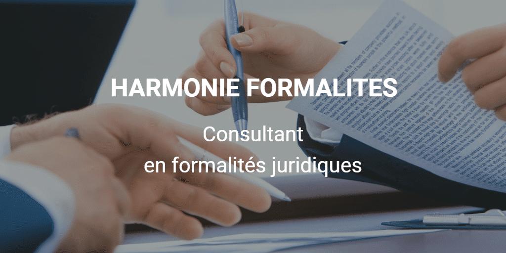 HARMONIE FORMALITES