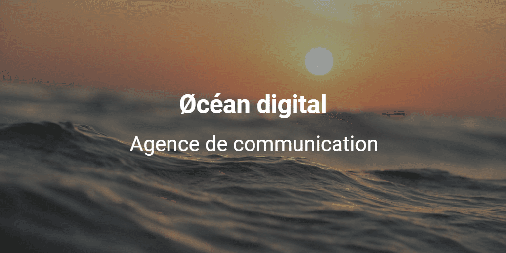 Øcéan digital, agence de communication