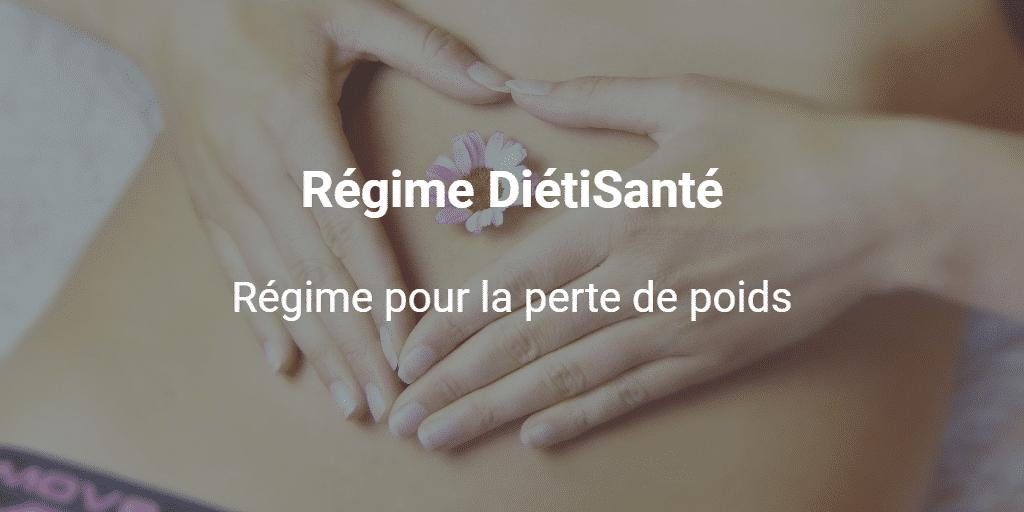 Régime DiétiSanté