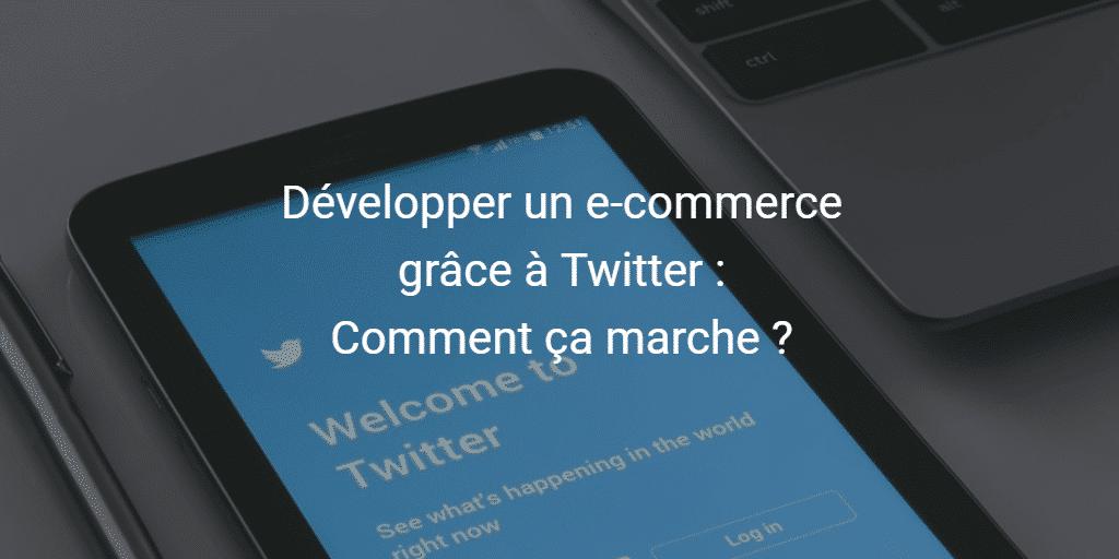 Développer un e-commerce grâce à Twitter : Comment ça marche ?