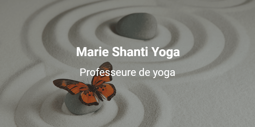 Professeure de yoga