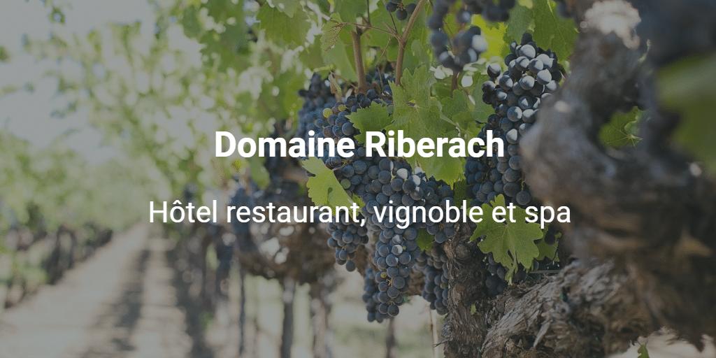 Hôtel restaurant, vignoble et spa