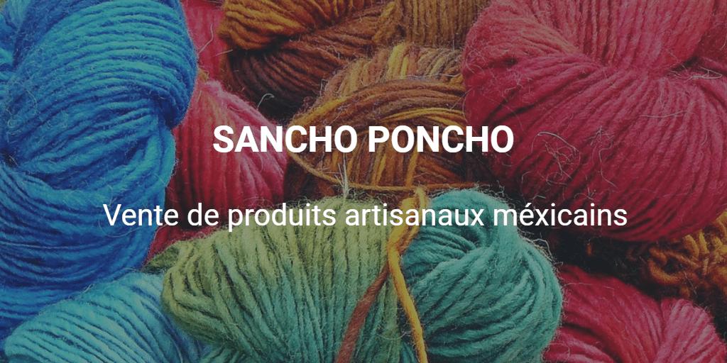 Vente de produits artisanaux méxicains